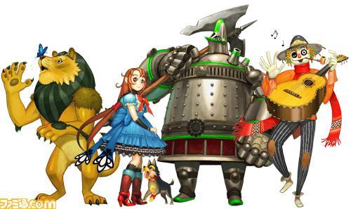 O Mágico de Oz em uma adaptação livre feita pelo mesmo time responsável pela série Wild Arms. Somente para Nintendo DS.